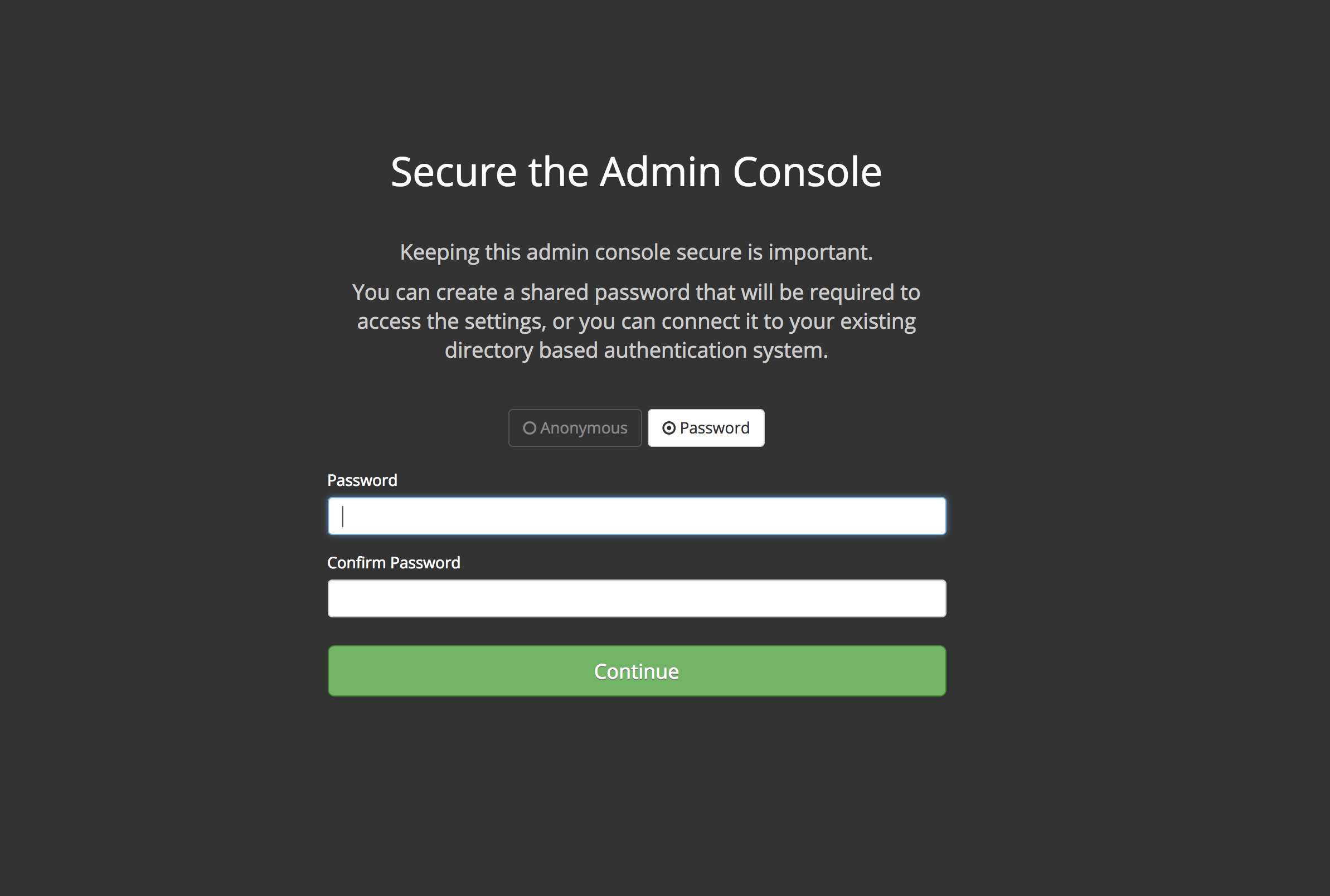 Secure The Console